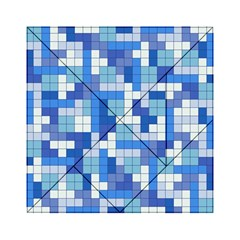 Tetris Camouflage Marine Acrylic Tangram Puzzle (6  X 6 )