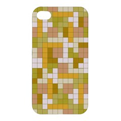 Tetris Camouflage Desert Apple Iphone 4/4s Premium Hardshell Case
