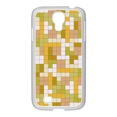 Tetris Camouflage Desert Samsung Galaxy S4 I9500/ I9505 Case (white)
