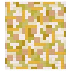 Tetris Camouflage Desert Drawstring Pouches (xxl)