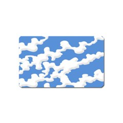 Cloud Lines Magnet (name Card)