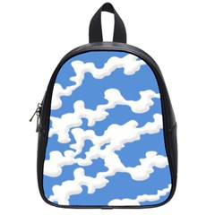 Cloud Lines School Bag (small)