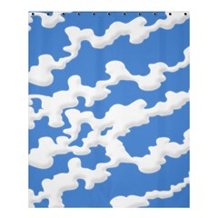 Cloud Lines Shower Curtain 60  X 72  (medium)