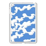 Cloud Lines Apple iPad Mini Case (White) Front