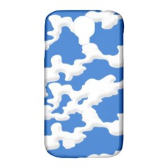Cloud Lines Samsung Galaxy S4 Classic Hardshell Case (pc+silicone)