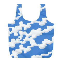 Cloud Lines Full Print Recycle Bags (l)