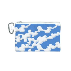 Cloud Lines Canvas Cosmetic Bag (s)