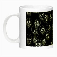 A Lot Of Skulls Black Night Luminous Mugs