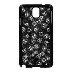 A Lot Of Skulls Black Samsung Galaxy Note 3 Neo Hardshell Case (black)