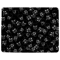 A Lot Of Skulls Black Jigsaw Puzzle Photo Stand (rectangular)