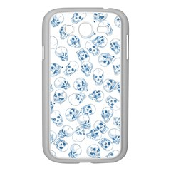 A Lot Of Skulls Blue Samsung Galaxy Grand Duos I9082 Case (white)