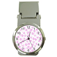 A Lot Of Skulls Pink Money Clip Watches