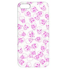 A Lot Of Skulls Pink Apple Iphone 5 Hardshell Case With Stand