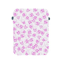 A Lot Of Skulls Pink Apple Ipad 2/3/4 Protective Soft Cases
