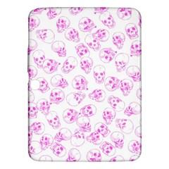 A Lot Of Skulls Pink Samsung Galaxy Tab 3 (10 1 ) P5200 Hardshell Case