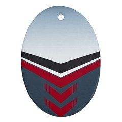 Modern Shapes Ornament (oval)
