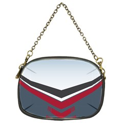 Modern Shapes Chain Purses (one Side)