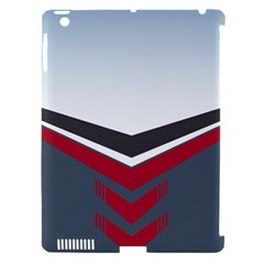 Modern Shapes Apple Ipad 3/4 Hardshell Case (compatible With Smart Cover)