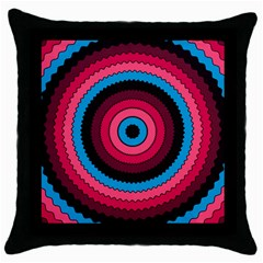 Oracle 02 Throw Pillow Case (black)