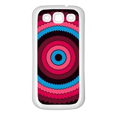 Oracle 02 Samsung Galaxy S3 Back Case (white)