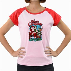 Dear Santa Women s Cap Sleeve T Shirt
