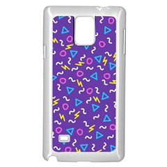 Retro Wave 1 Samsung Galaxy Note 4 Case (white)