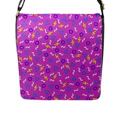 Retro Wave 2 Flap Messenger Bag (l)