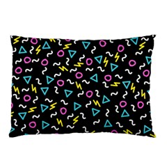 Retro Wave 3 Pillow Case (two Sides)