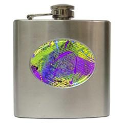 Ink Splash 02 Hip Flask (6 Oz)