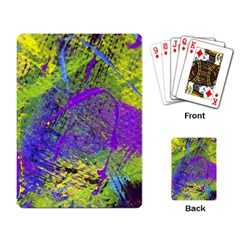 Ink Splash 02 Playing Card