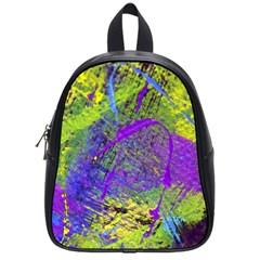 Ink Splash 02 School Bag (small)
