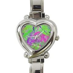 Ink Splash 03 Heart Italian Charm Watch