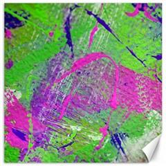 Ink Splash 03 Canvas 16  X 16