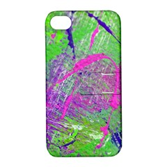 Ink Splash 03 Apple Iphone 4/4s Hardshell Case With Stand