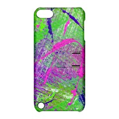 Ink Splash 03 Apple Ipod Touch 5 Hardshell Case With Stand