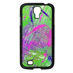 Ink Splash 03 Samsung Galaxy S4 I9500/ I9505 Case (black)