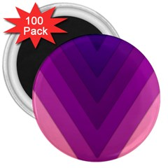 Tri 01 3  Magnets (100 Pack)