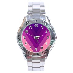 Tri 01 Stainless Steel Analogue Watch