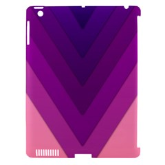 Tri 01 Apple Ipad 3/4 Hardshell Case (compatible With Smart Cover)