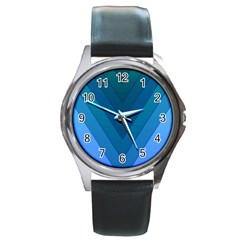Tri 04 Round Metal Watch