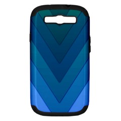 Tri 04 Samsung Galaxy S Iii Hardshell Case (pc+silicone)