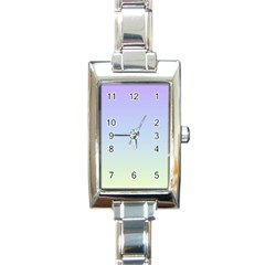 Vanilla Gradient Rectangle Italian Charm Watch