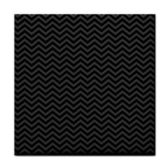 Dark Chevron Tile Coasters