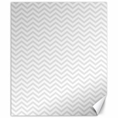 Light Chevron Canvas 8  X 10