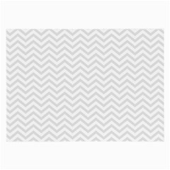 Light Chevron Large Glasses Cloth