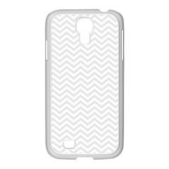 Light Chevron Samsung Galaxy S4 I9500/ I9505 Case (white)