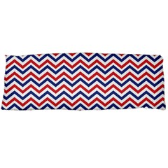 Navy Chevron Body Pillow Case Dakimakura (two Sides)