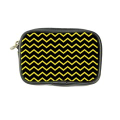 Yellow Chevron Coin Purse