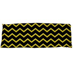 Yellow Chevron Body Pillow Case (dakimakura)