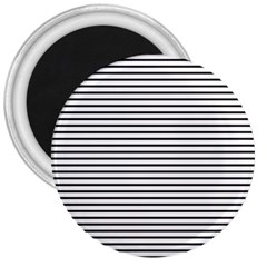 Basic Horizontal Stripes 3  Magnets